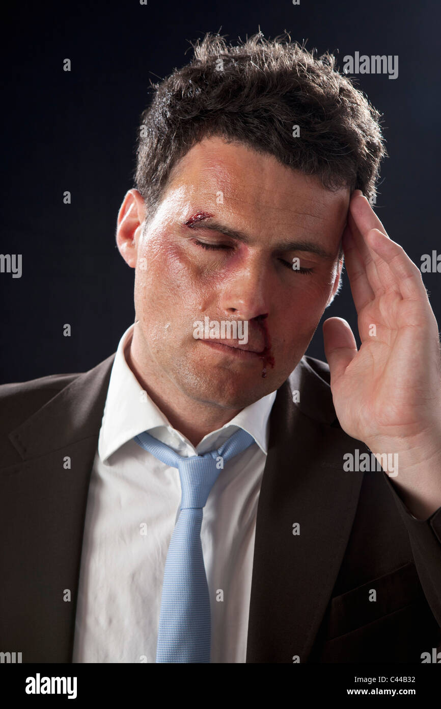 Misfortune Pain Person Stock Photos & Misfortune Pain