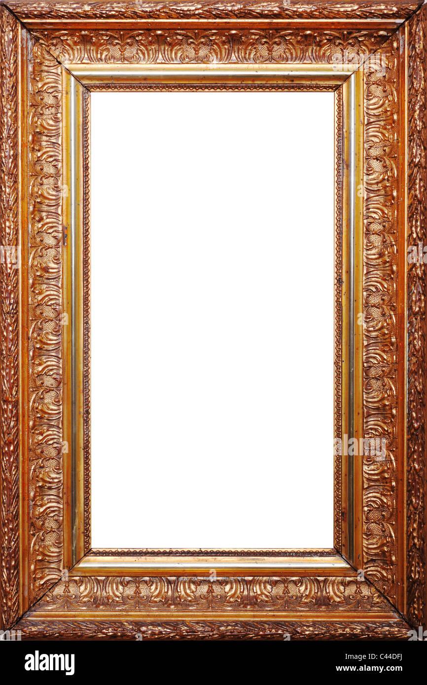 gold frame border invitation fine image of old golden frame stock image gold frame border photos images alamy