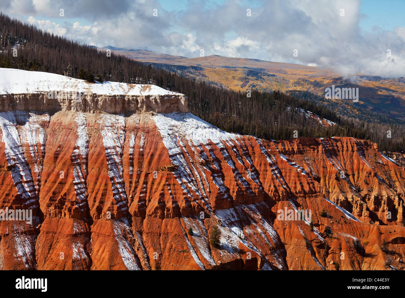 Cedar Breaks in autumn season - Stock Image