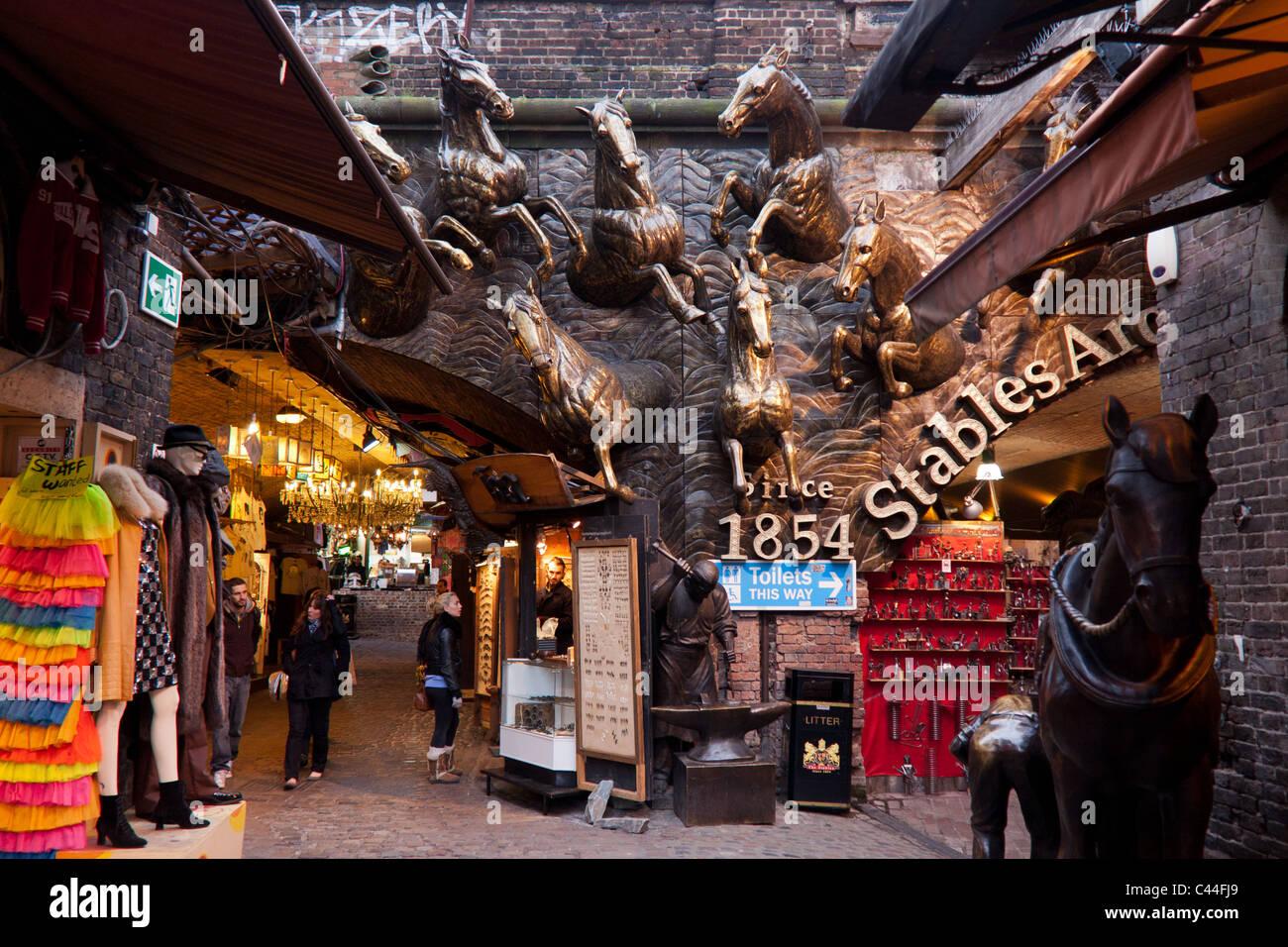 Stables Market, Camden Market - Stock Image