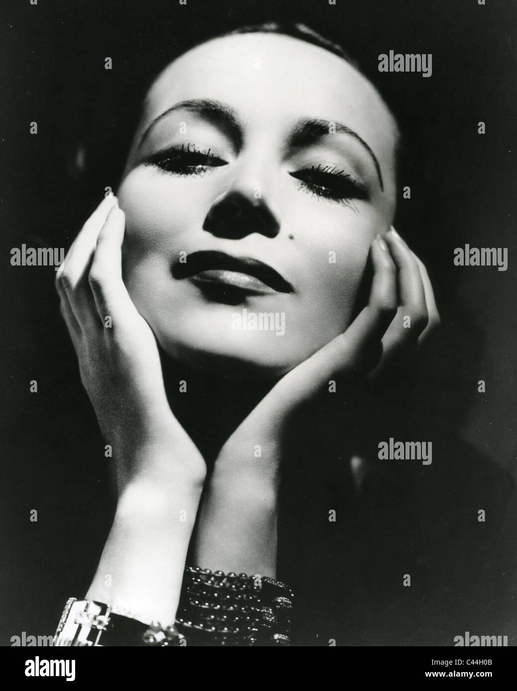 d0a651539 DOLORES del RIO (1904-1983) Mexican film actress about 1940 - Stock Image