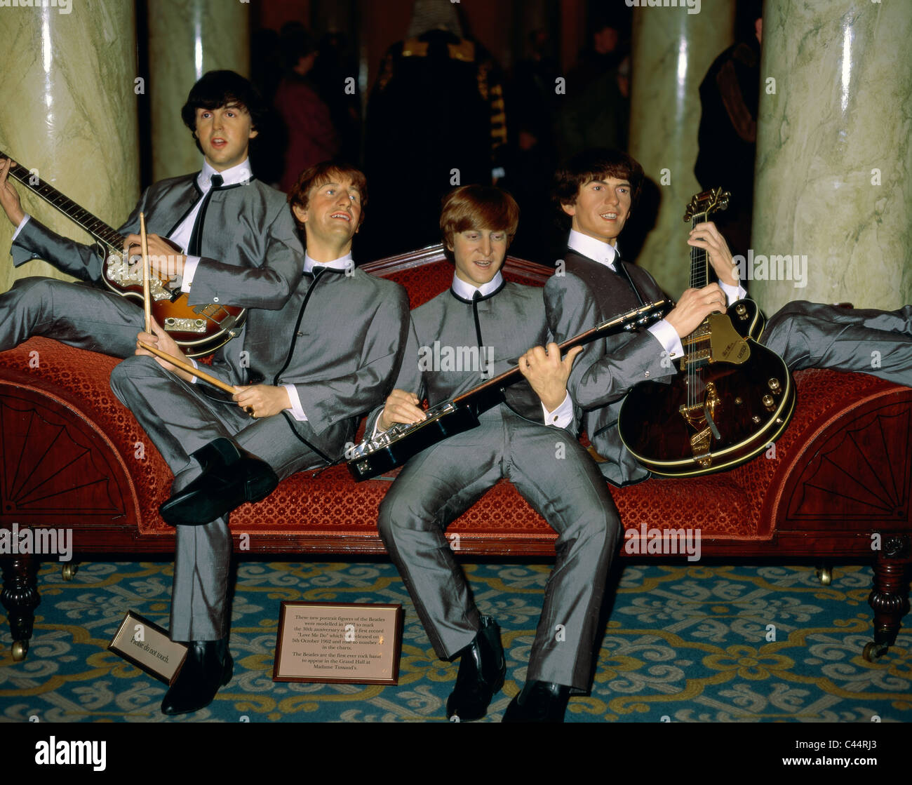 Beatles, England, United Kingdom, Great Britain, Holiday, Landmark, London, Madame, Museum, Statues, Tourism, Travel, - Stock Image