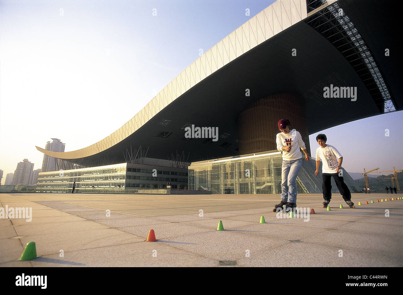 Architecture asia china civic centre guandong holiday