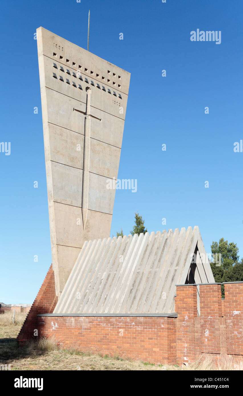 South African War (Boer War) Concentration Camp Memorial, Aliwal North, Eastern Cape, South Africa - Stock Image