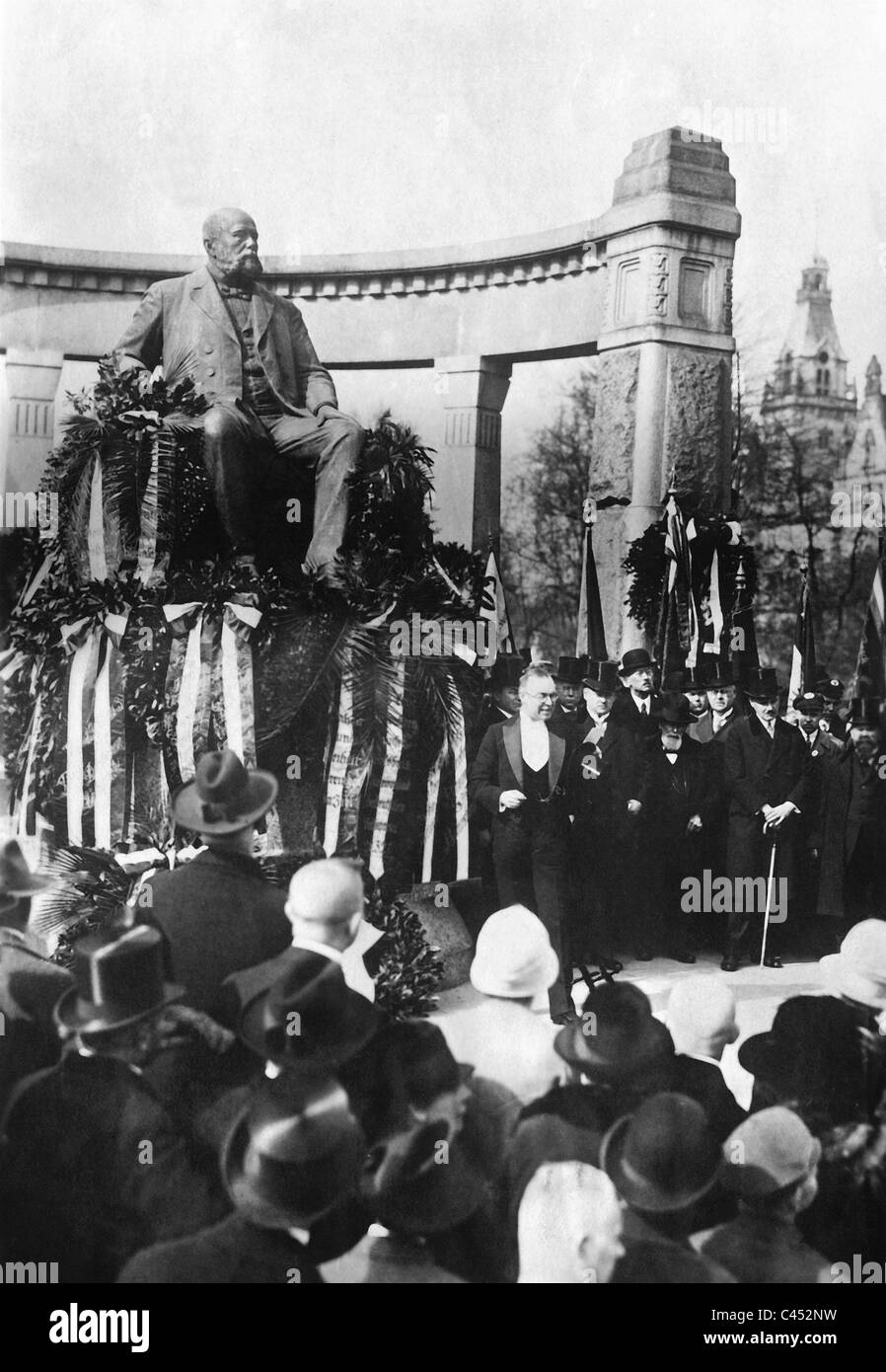60th anniversary celebration of the National Liberals in Hannover, 1927 - Stock Image