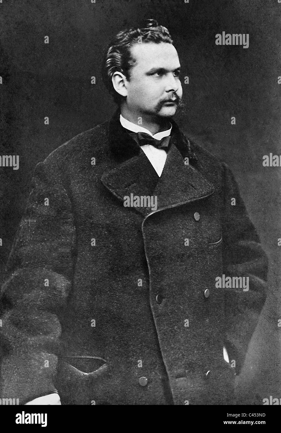 King Ludwig II of Bavaria - Stock Image