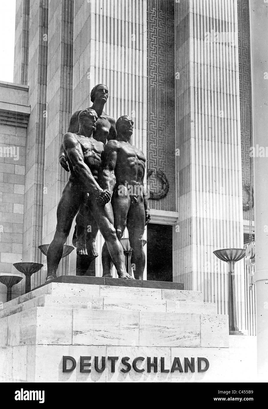 Josef Thorak: 'Comradeship' - Stock Image