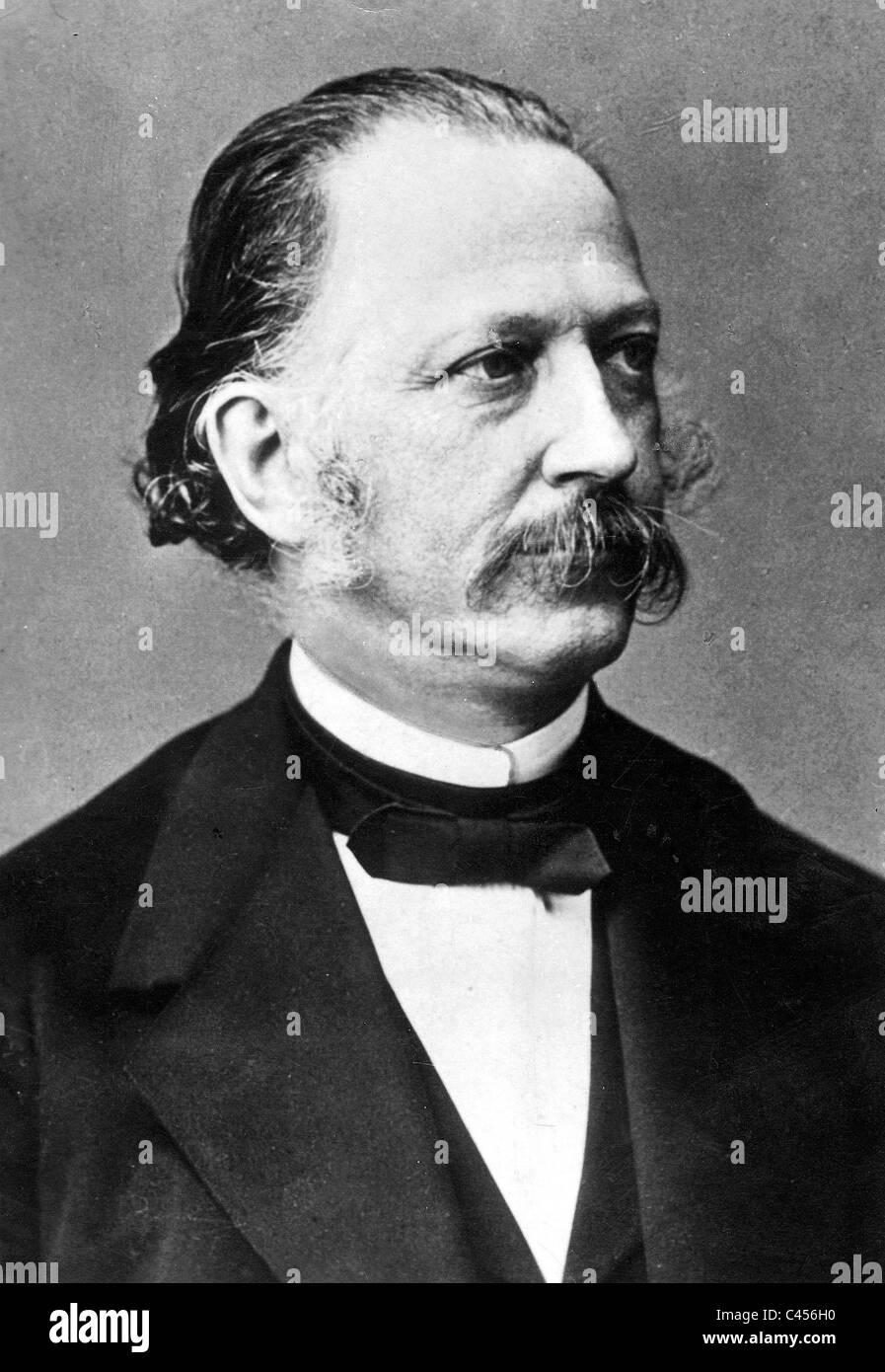 Theodor Fontane Stock Photo