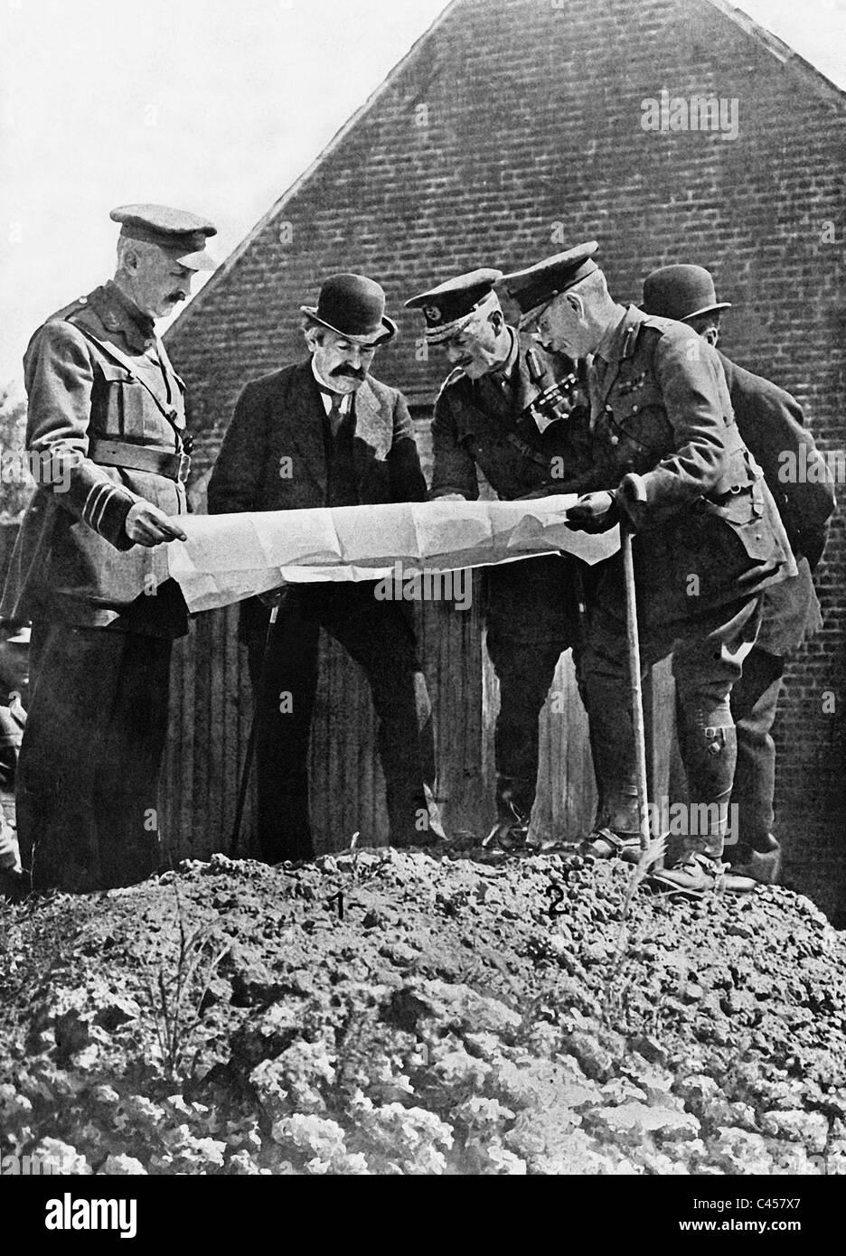 Aristide Briand and Douglas Haig, 1916 - Stock Image