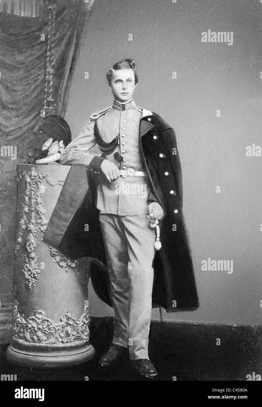 King Ludwig II of Bavaria, 1864 - Stock Image