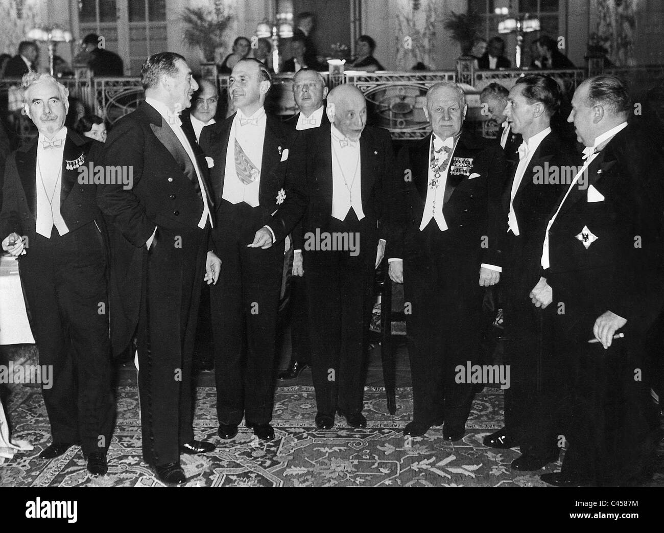 International Composer and Authors Congress in Berlin, 1936 - Stock Image