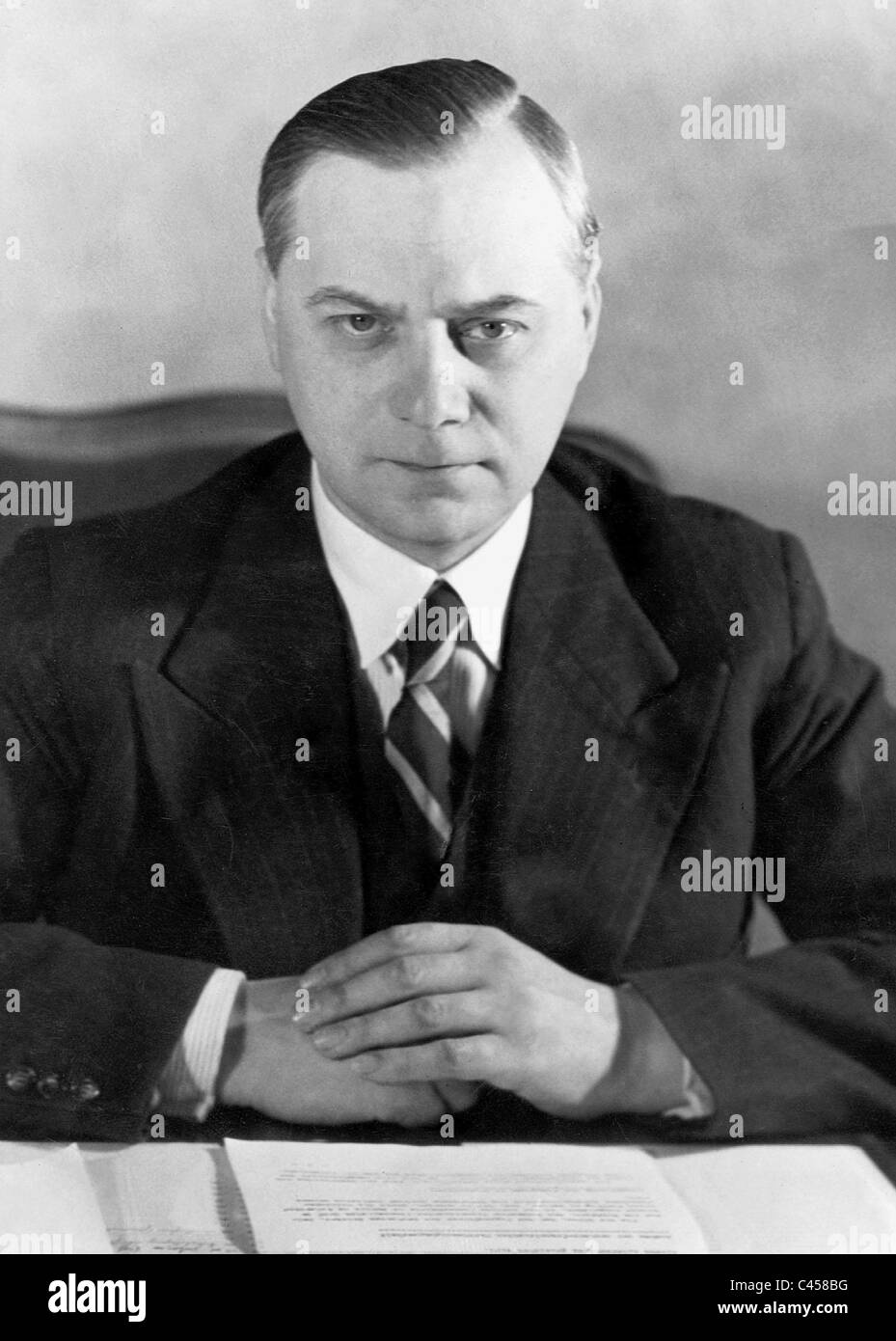 Alfred Rosenberg, 1938 Stock Photo