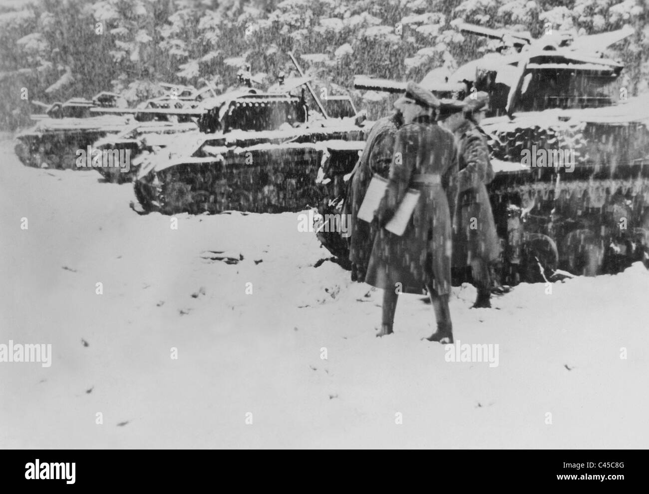 Ardennes 1945 stock photos ardennes 1945 stock images alamy nazi german officers inspect destroyed american tanks in the ardennes 1945 stock image publicscrutiny Gallery