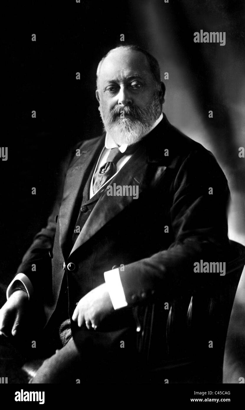 KING EDWARD VII KING OF ENGLAND 1901 - 1910 01 May 1902 Approximate Date - Stock Image