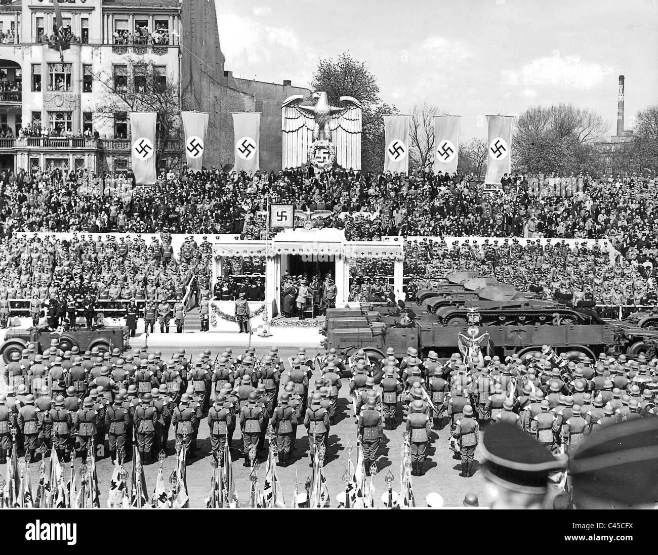 Hitler S 50th Birthday Stock Photos Hitler S 50th Birthday Stock