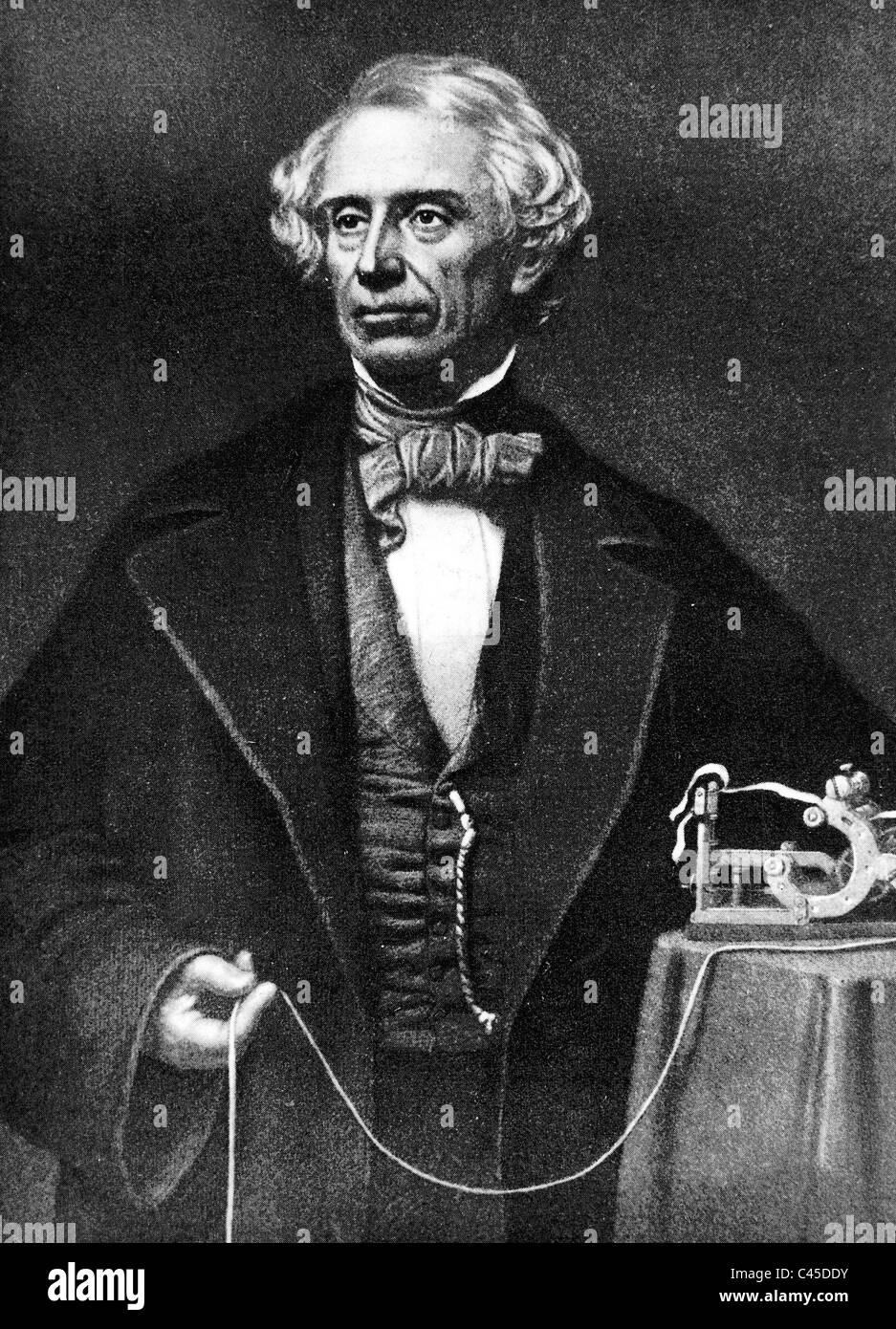 Samuel Morse - Stock Image