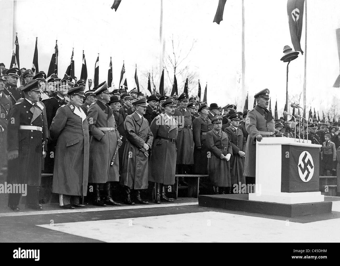 Defense Engineering Faculty in 1937 - Stock Image
