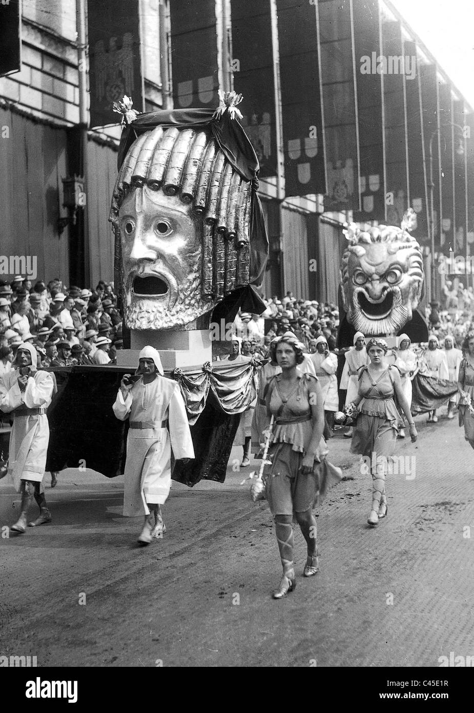 Pageant '2000 years of German Culture '1938 Stock Photo