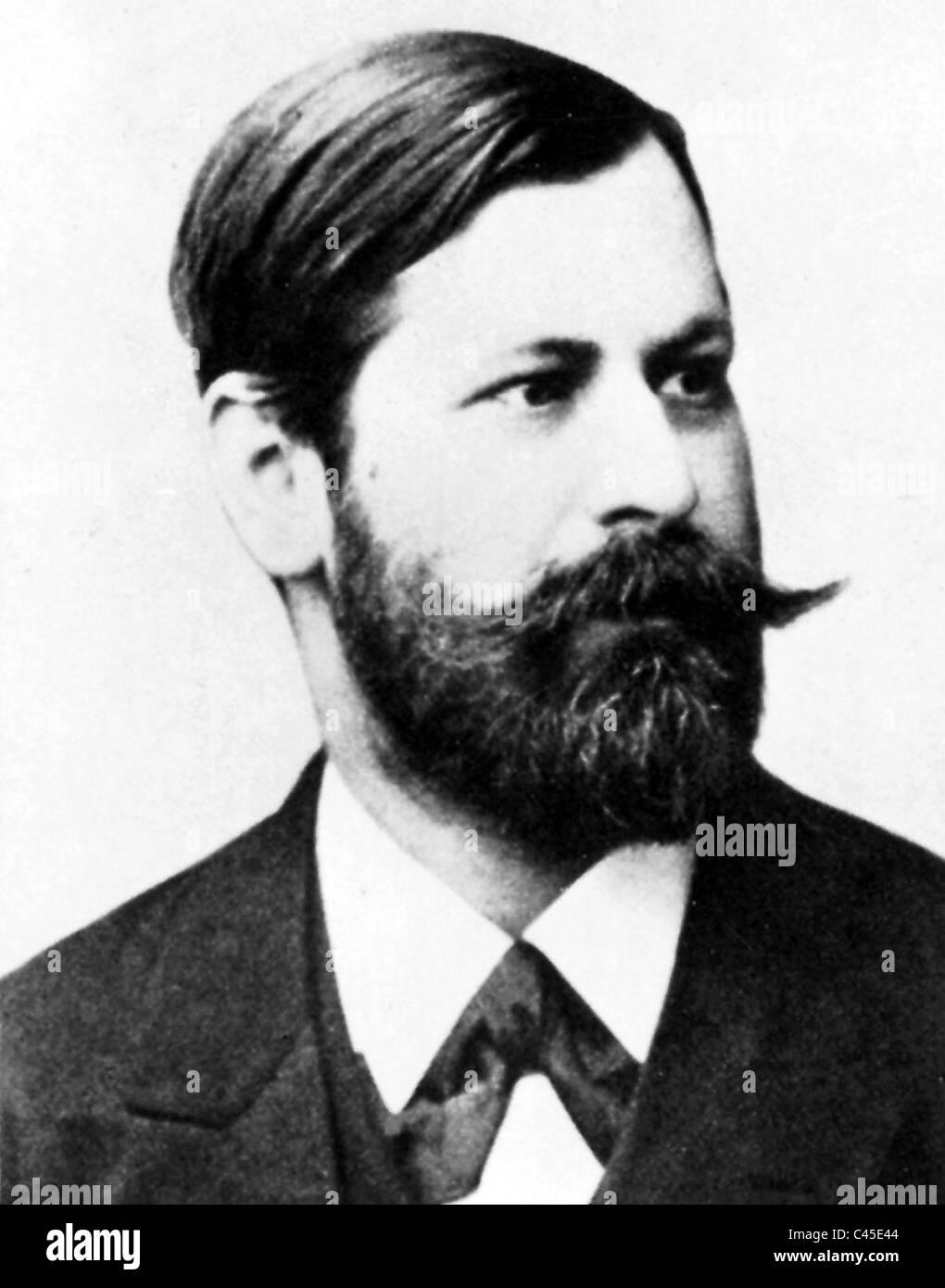 Sigmund Freud, 1901 - Stock Image