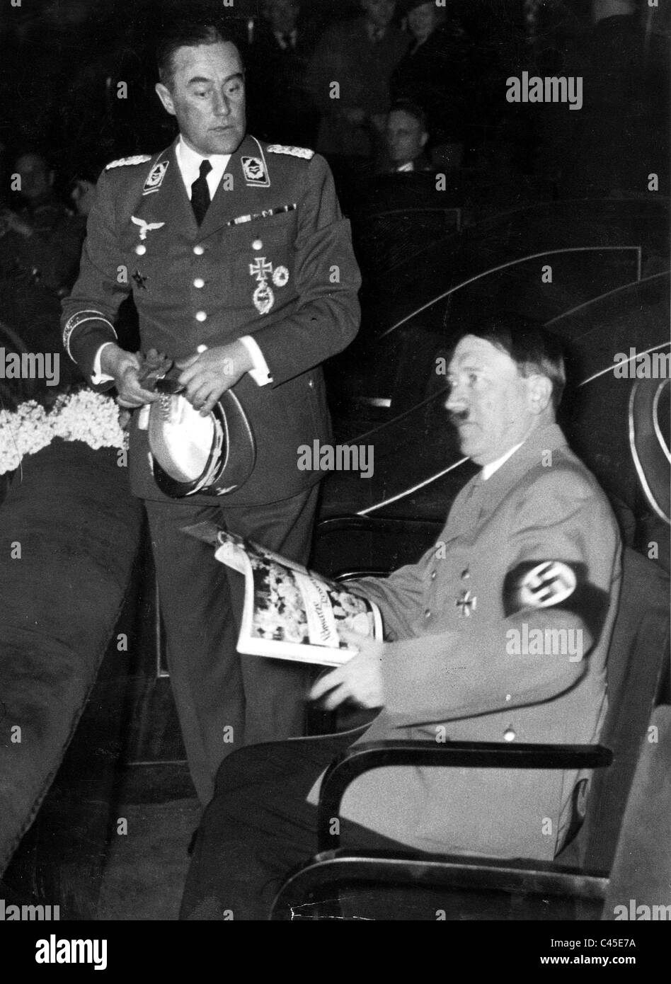 Adolf Hitler Theater/Movie - Stock Image