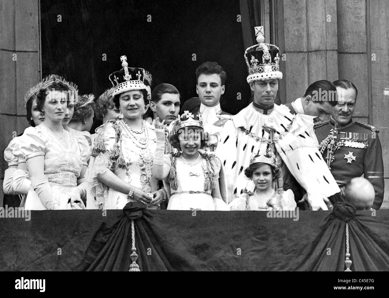 george vi of great britain after the coronation 1937 stock photo