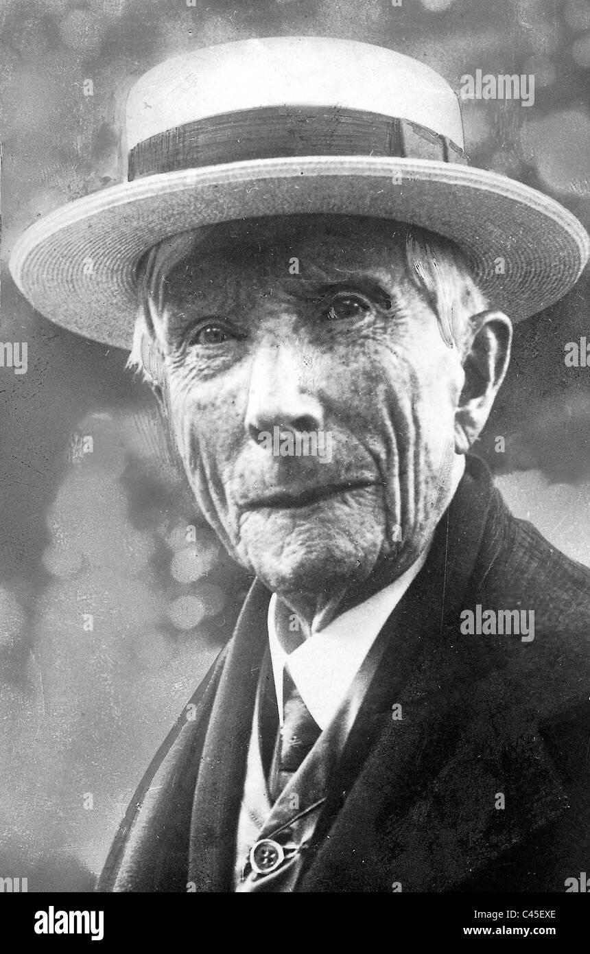 John Davison Rockefeller - Stock Image