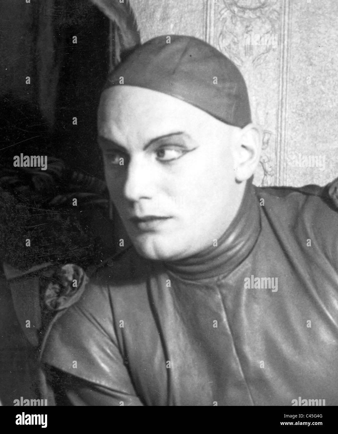 Gustaf Gruendgens in 'Faust', 1932 - Stock Image