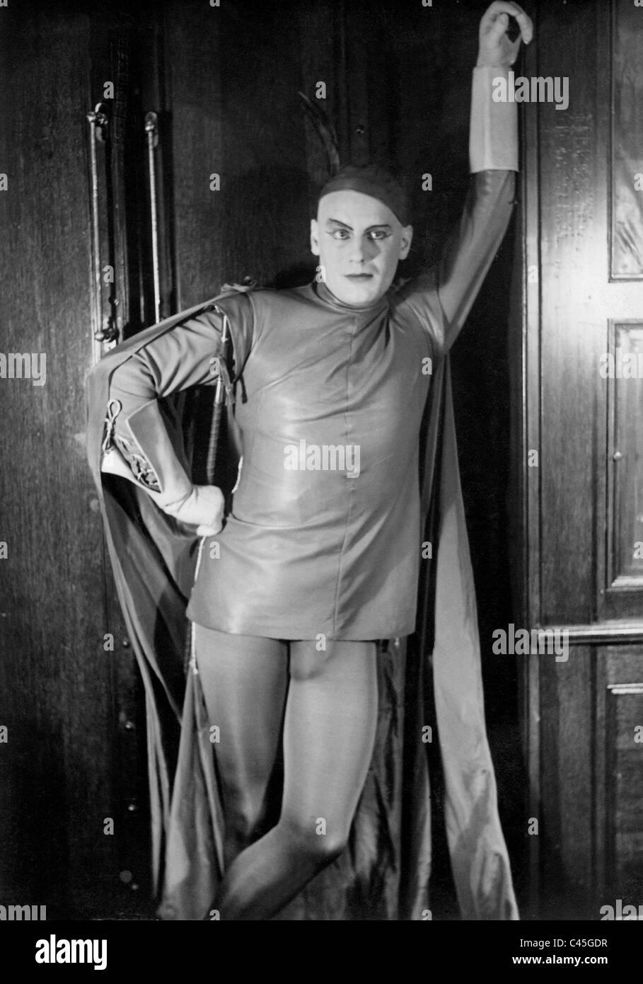 Gustaf Gruendgens as Mephistopheles in 'Faust', 1932 - Stock Image