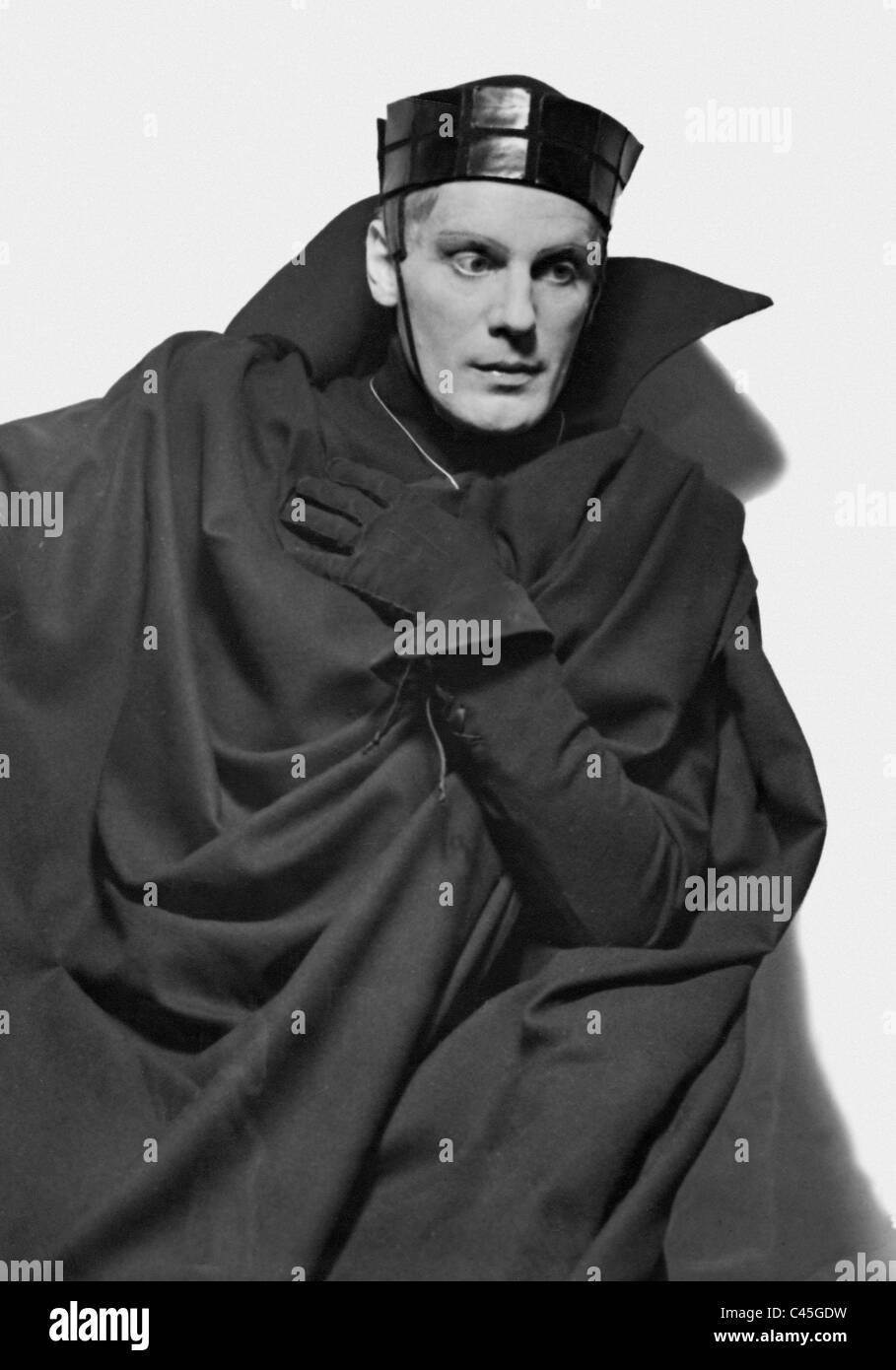 Gustaf Gruendgens in 'Hamlet', 1936 Stock Photo