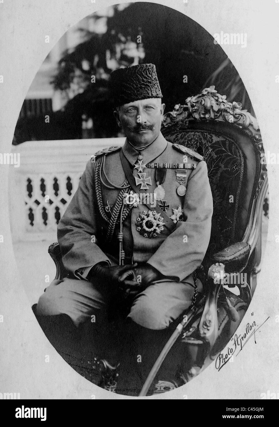 Emperor Wilhelm II., 1917 Stock Photo