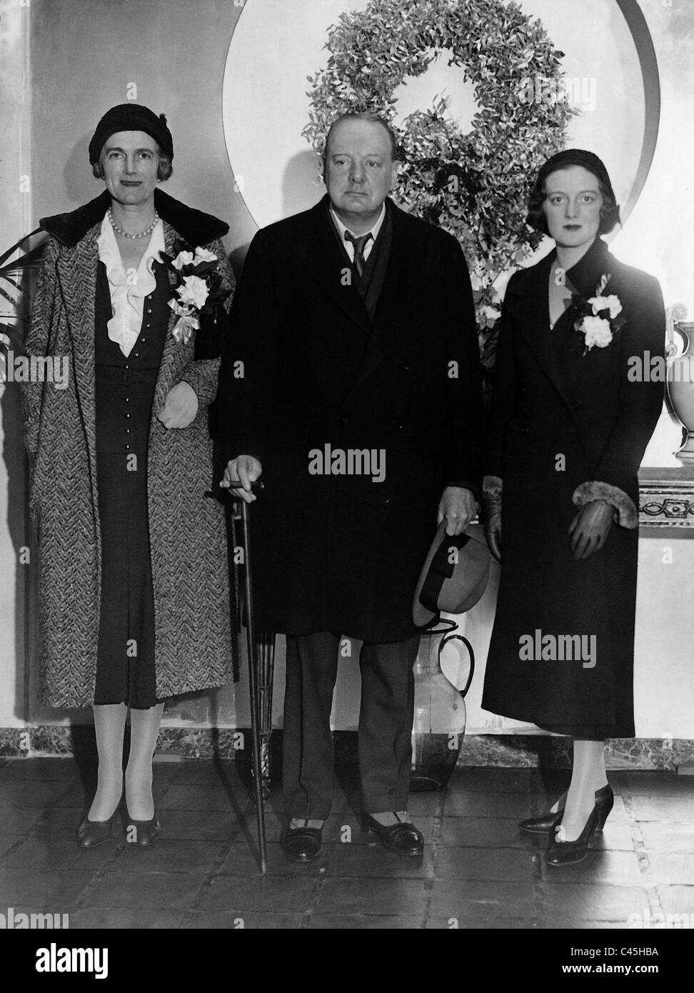Clementine Churchill Black And White Stock Photos Images