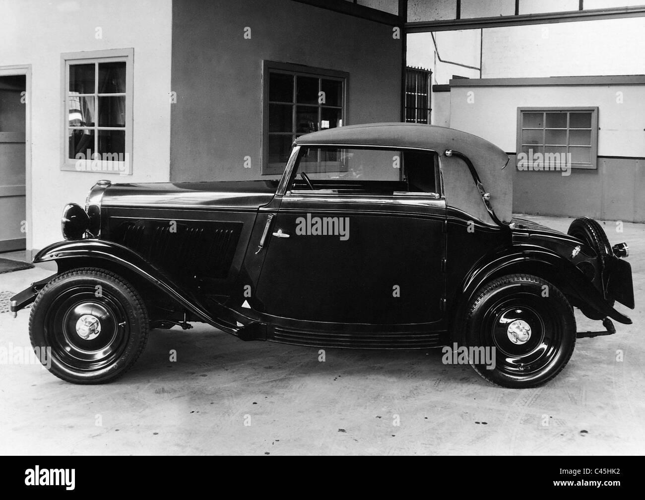 Opel model, 1.8 liter version, 1932 - Stock Image