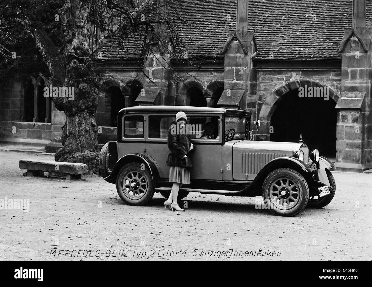Mercedes-Benz '2 liters' version, 1928 - Stock Image