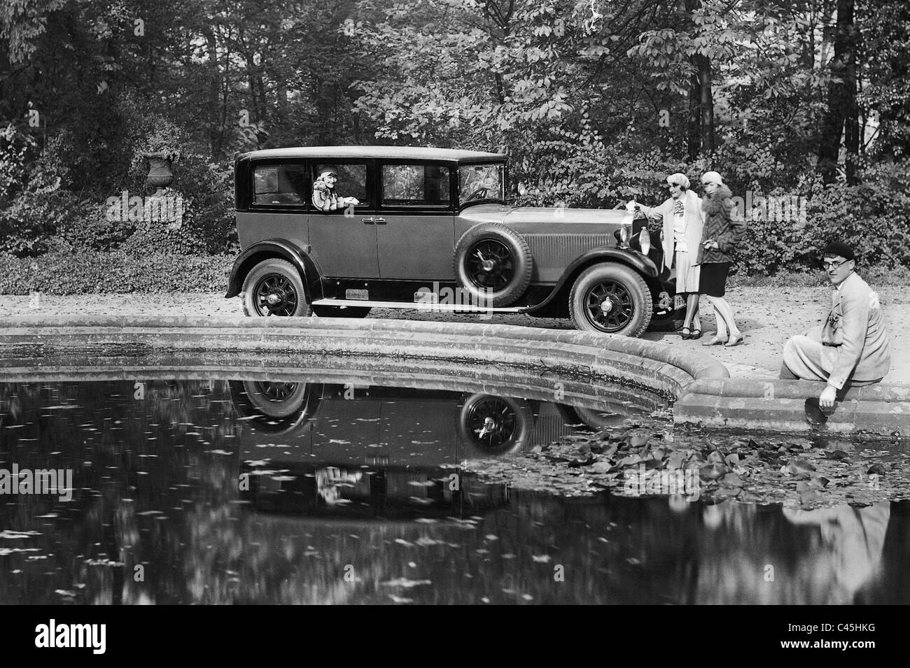 Mercedes-Benz 'Nuerburg' model, 1929 - Stock Image