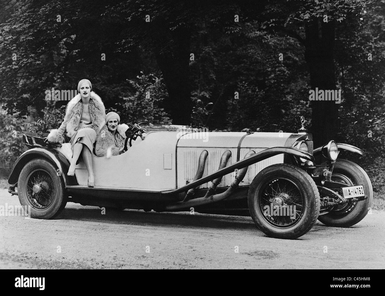 Mercedes Benz Sports Car, Model U0027Su0027, 1928   Stock Image