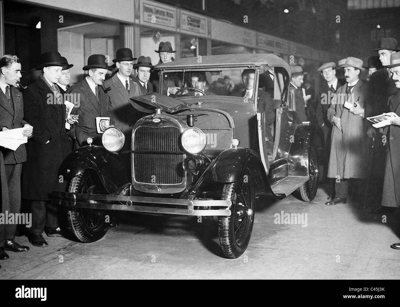 Ford two-seater, 1927 - Stock Image