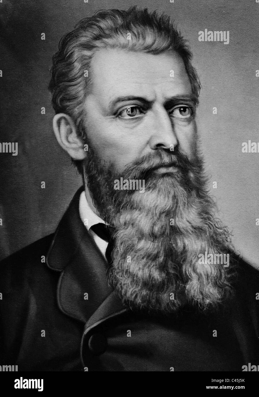 Ludwig Andreas Feuerbach - Stock Image