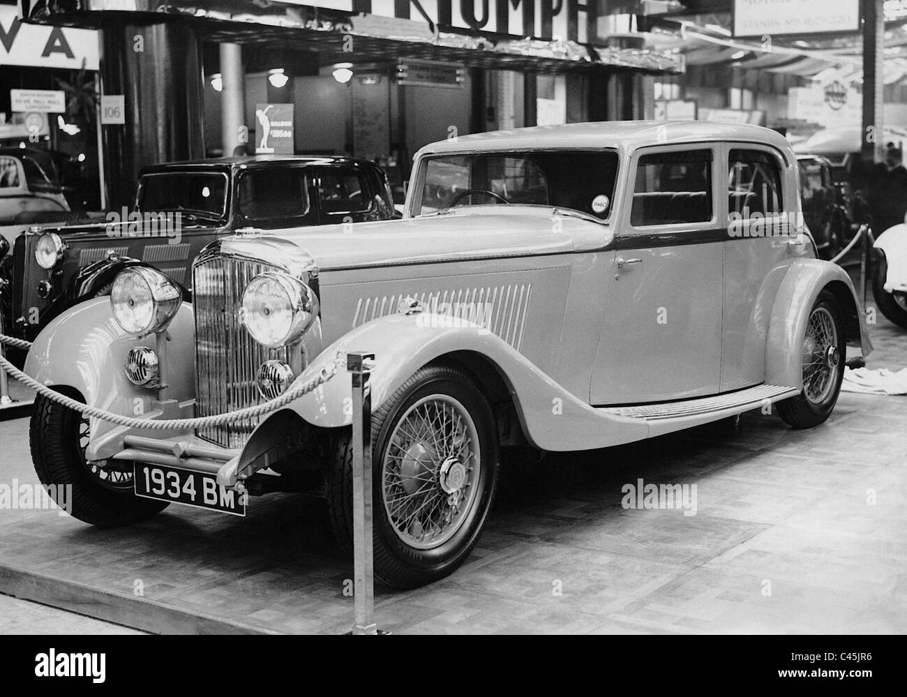 1938 Rolls Royce Black and White Stock Photos & Images - Alamy