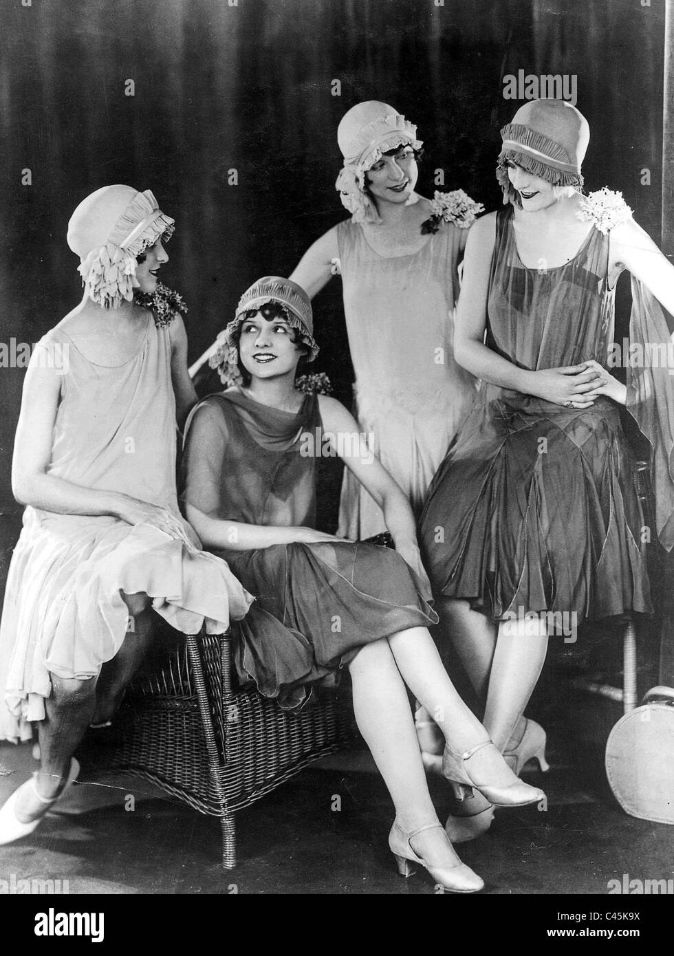 Women's fashions from 1927 Stock Photo - Alamy