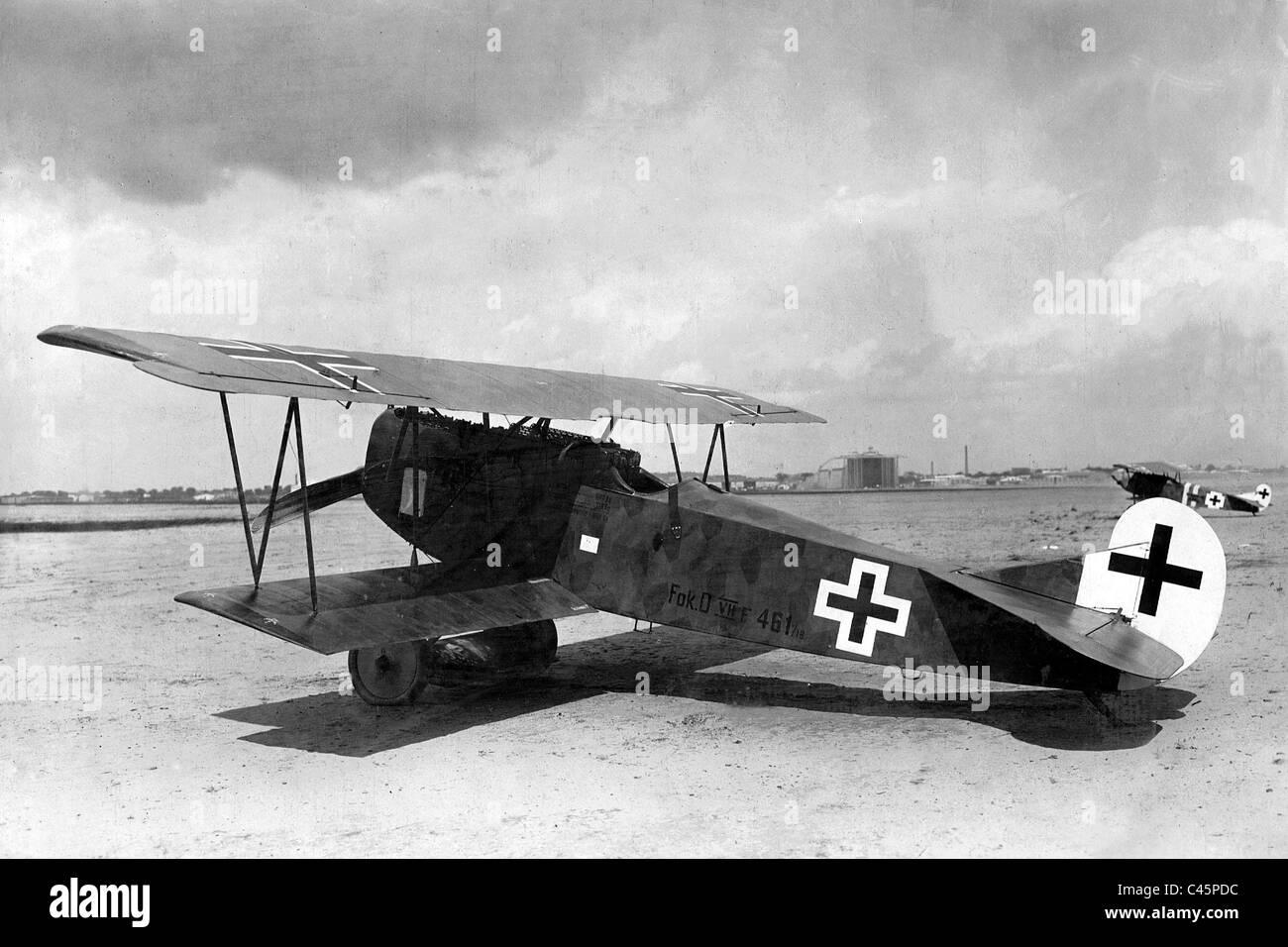Fokker DVII, 1917 Stock Photo