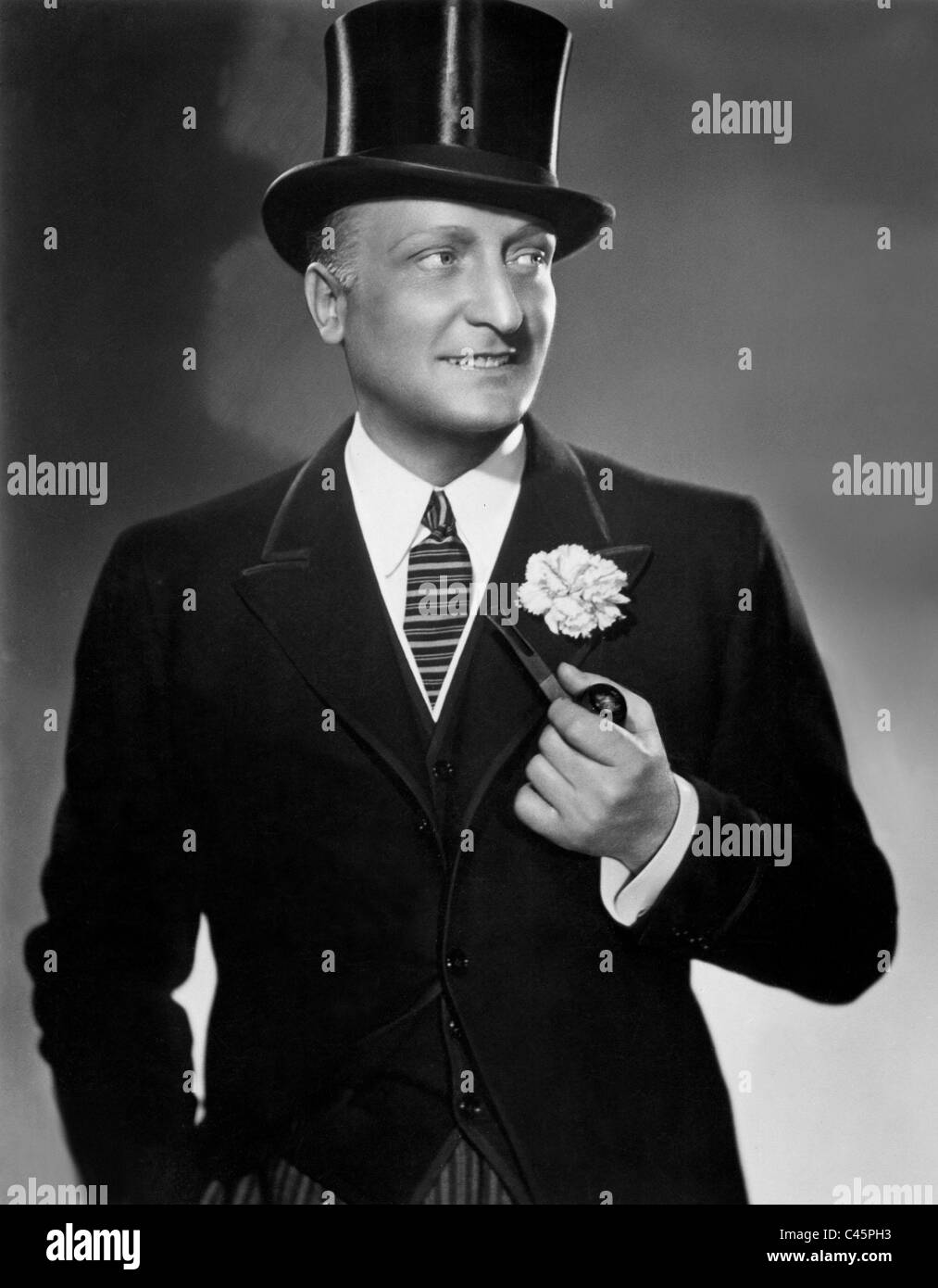 Hans Albers in 'The Man Who Was Sherlock Holmes', 1937 - Stock Image