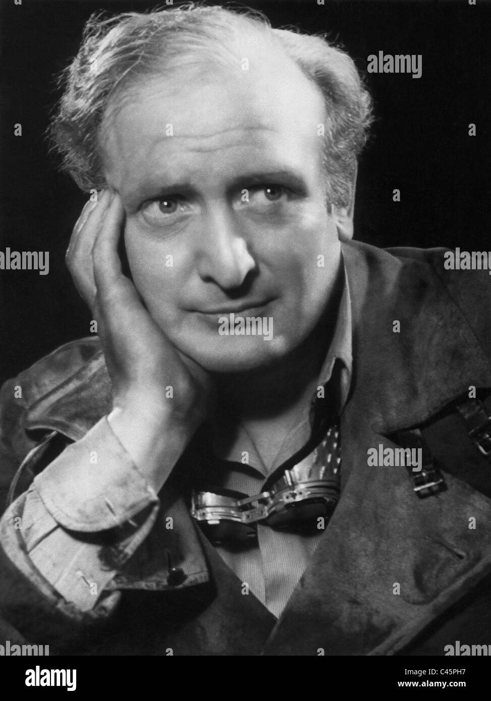 Hans Albers in 'Gold', 1934 - Stock Image