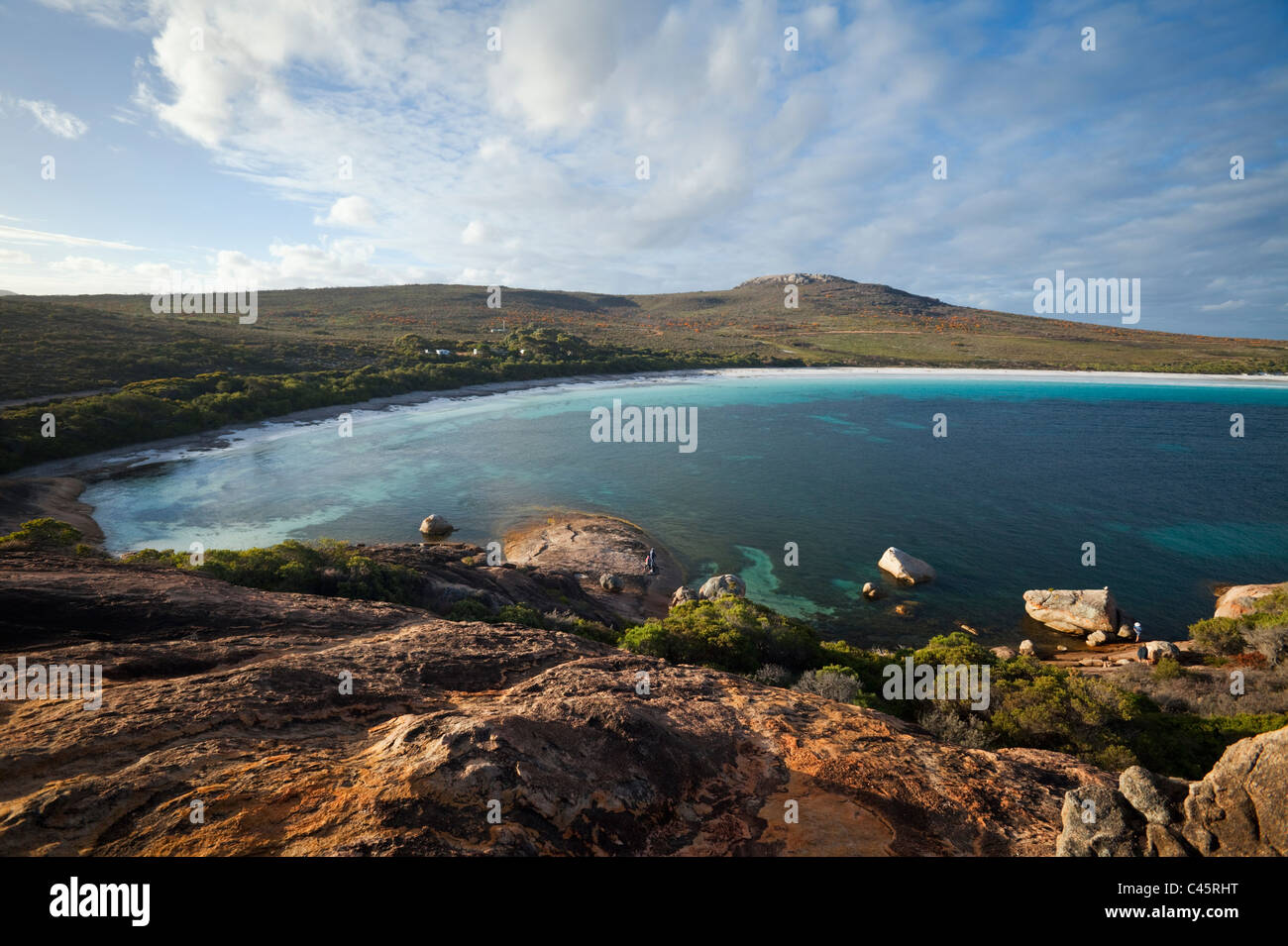 View across Lucky Bay. Cape Le Grand National Park, Esperance, Western Australia, Australia Stock Photo