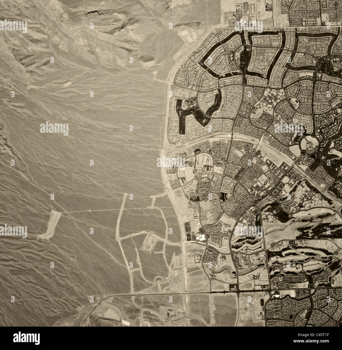Historical Aerial Map View Real Estate Development