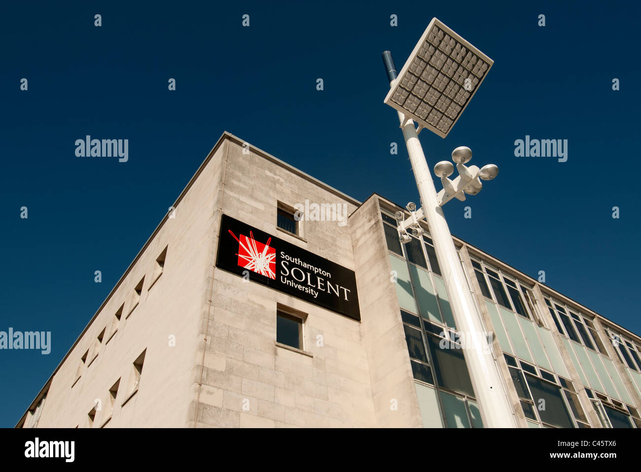 Solent Southampton University , Southampton Hampshire - Stock Image