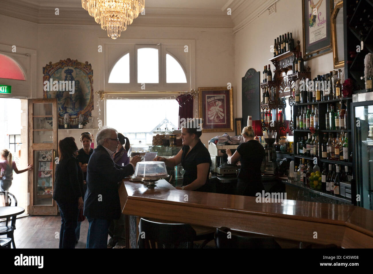 Liberte at the London\' coffee house and wine bar. Albany, Western ...