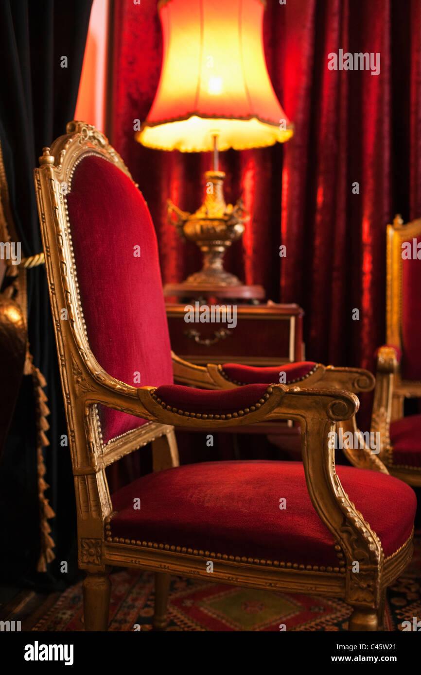 Ornate furniture. Albany, Western Australia, Australia - Stock Image