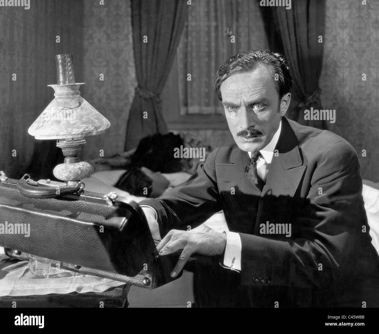 Conrad Veidt in 'A man's past', 1927 - Stock Image