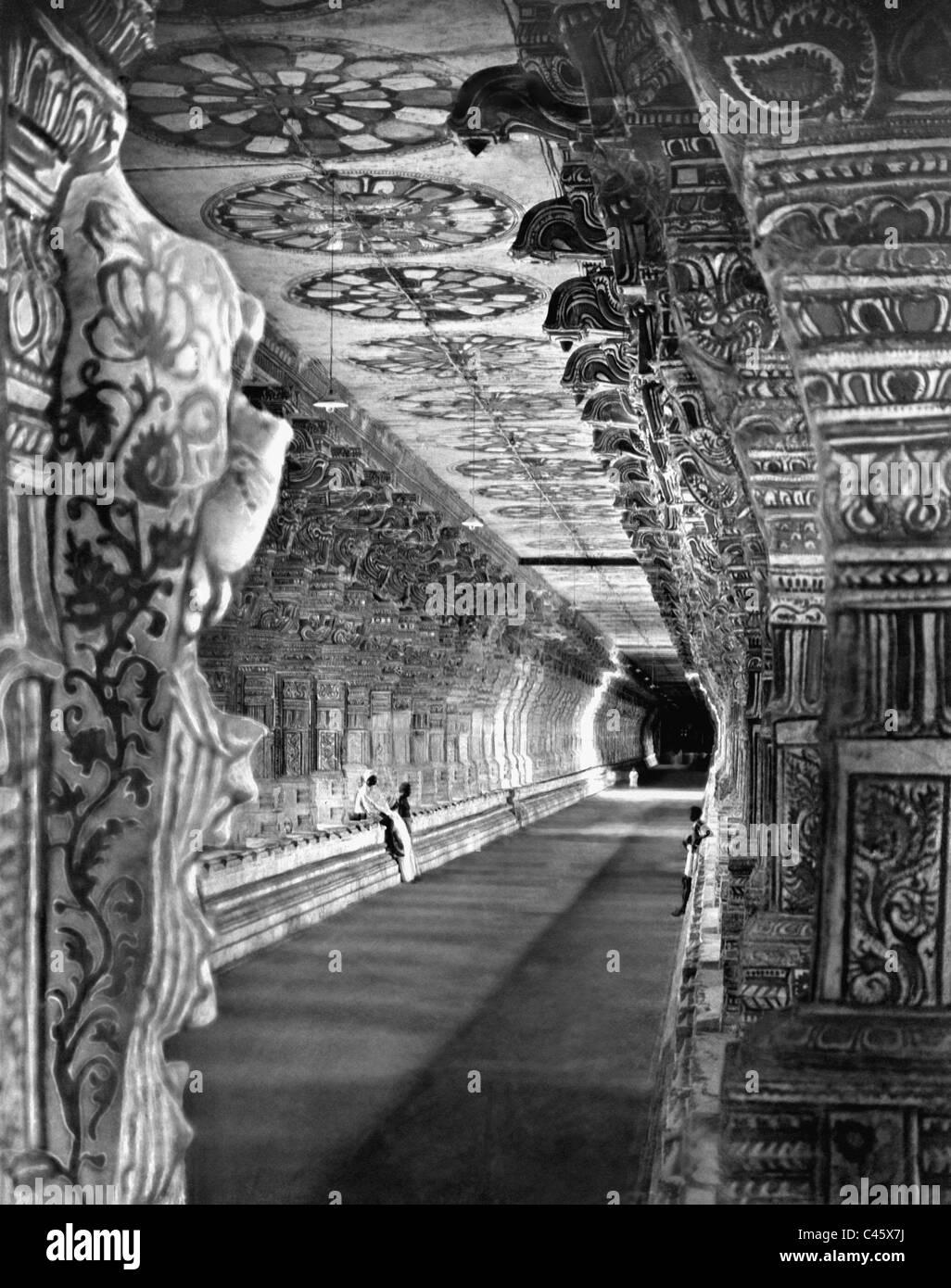 Shiva-Temple in Rameswaram - Stock Image
