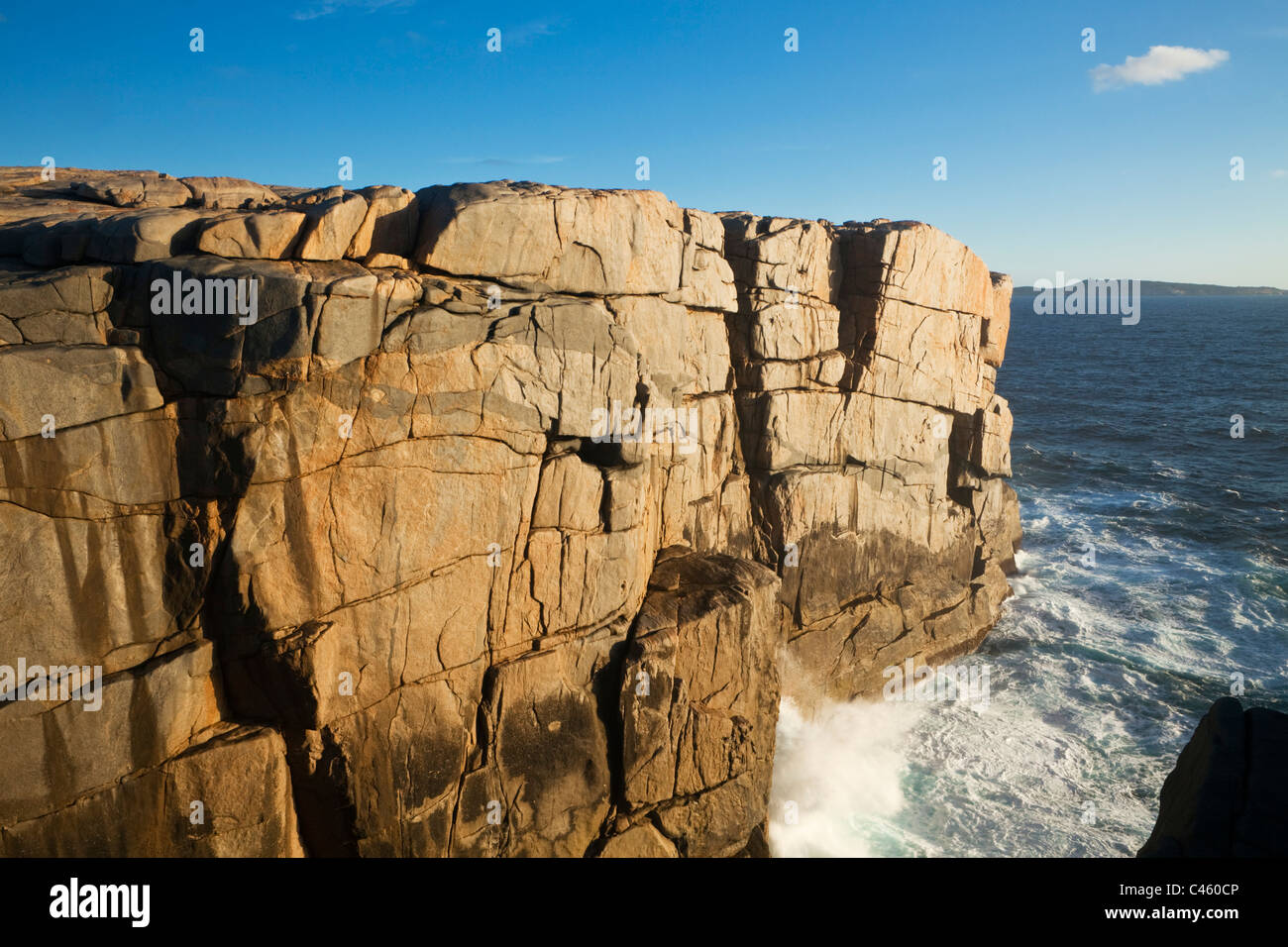 Rugged coastline at The Gap, Torndirrup National Park, Albany, Western Australia, Australia - Stock Image